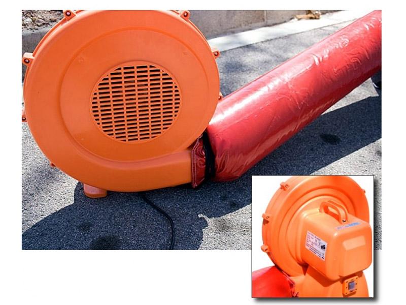 Luftpump med snabbt utförande för tält 220V 950W | nordmed